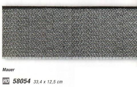 Каменная стена - 33,4x12,5 см, (H0)
