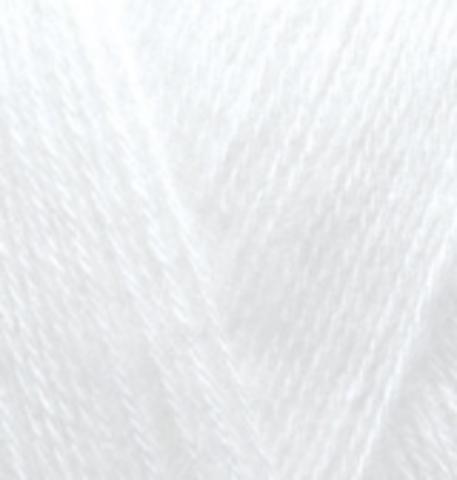 Пряжа Angora GOLD Alize 55 Белый - купить в интернет-магазине недорого klubokshop.ru