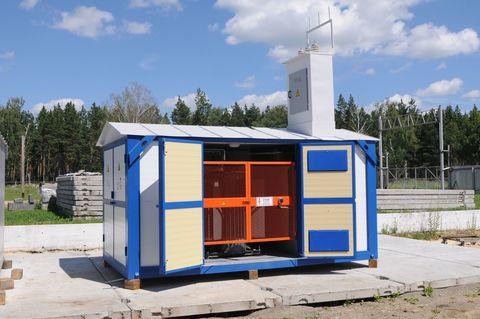 Монтаж блочной комплектной трансформаторной подстанции