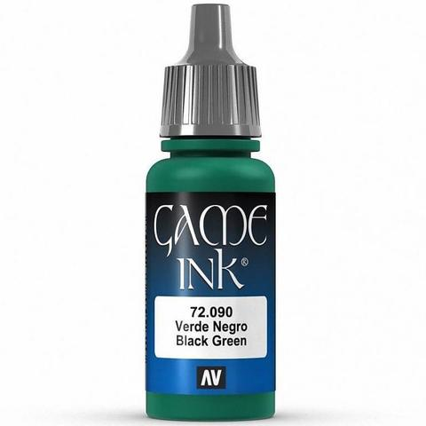 Ink Black Green Ink 17 ml.