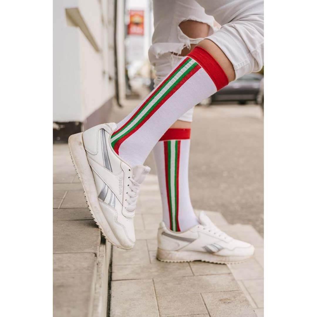 Женские белые носки Marrey Violante