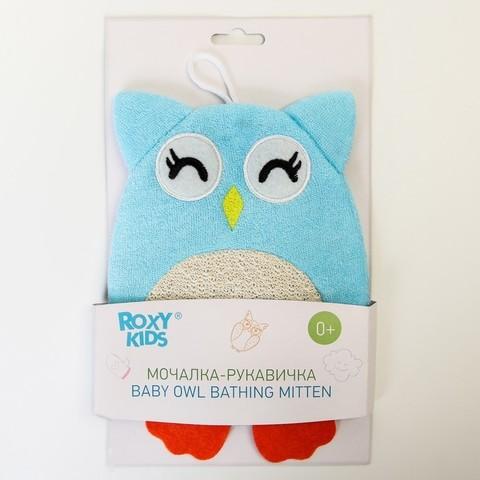 Махровая мочалка-рукавичка Совёнок ROXY KIDS