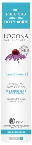 LOGONA Защитный дневной крем с Био-Эхинацеей и Био-Центеллой