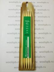 Спицы носочные бамбук (Hobby&Pro)