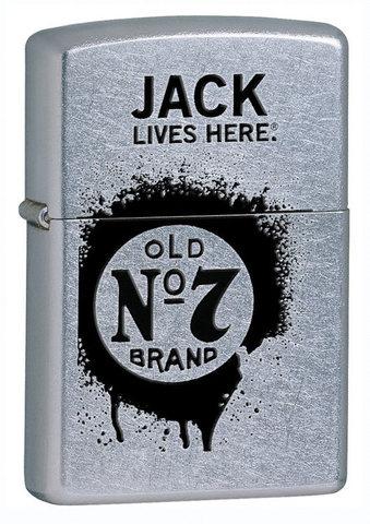 Зажигалка Zippo Jack Daniel's Lives Here