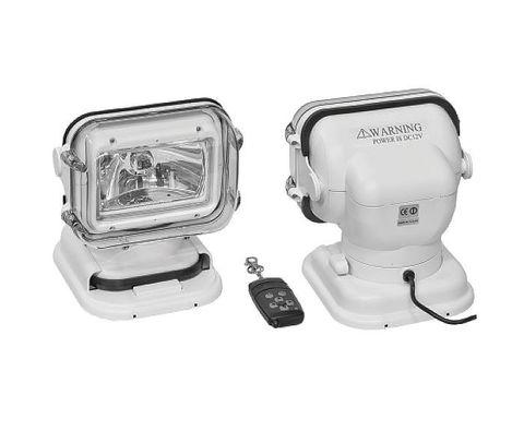 Прожектор стационарный галогеновый, с беспроводным пультом ДУ, белый (серия 960)