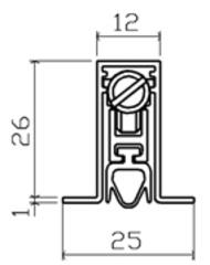 101SF GU02 Порог автоматический SIPAM