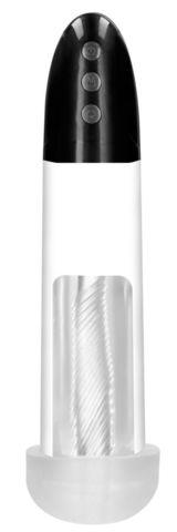 Автоматическая вакуумная помпа Rechargeable Automatic Cyber Pump with Sleeve