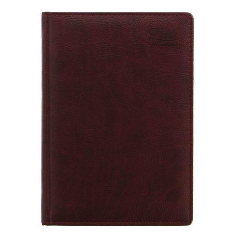 Ежедневник Letts Milano A5 (412 901080) недатированный белые стр темно-коричневый