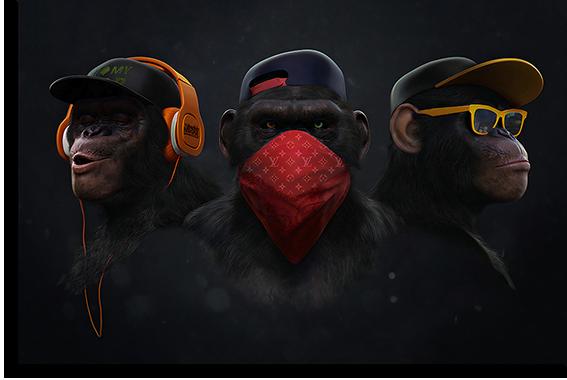 """Постеры Постер """"Современные обезьяны"""" п2087.png"""