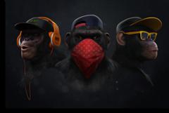 """Постер """"Современные обезьяны"""""""