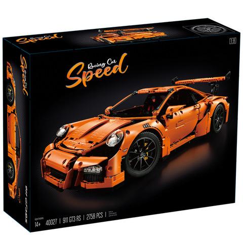 Конструктор 40027 Porsche 911 GT3 RS оранжевый