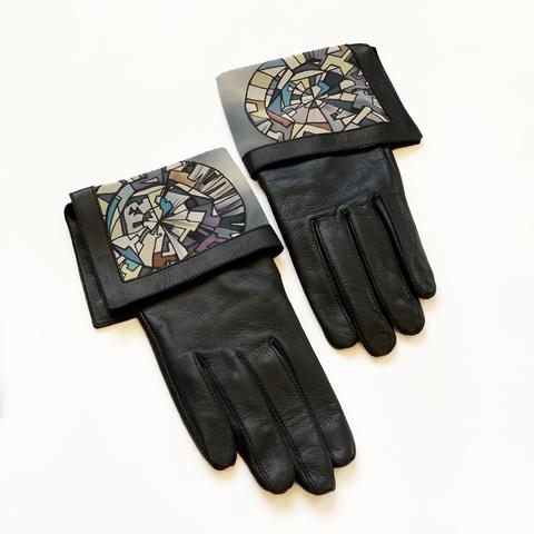 Перчатки кожаные Алмаз