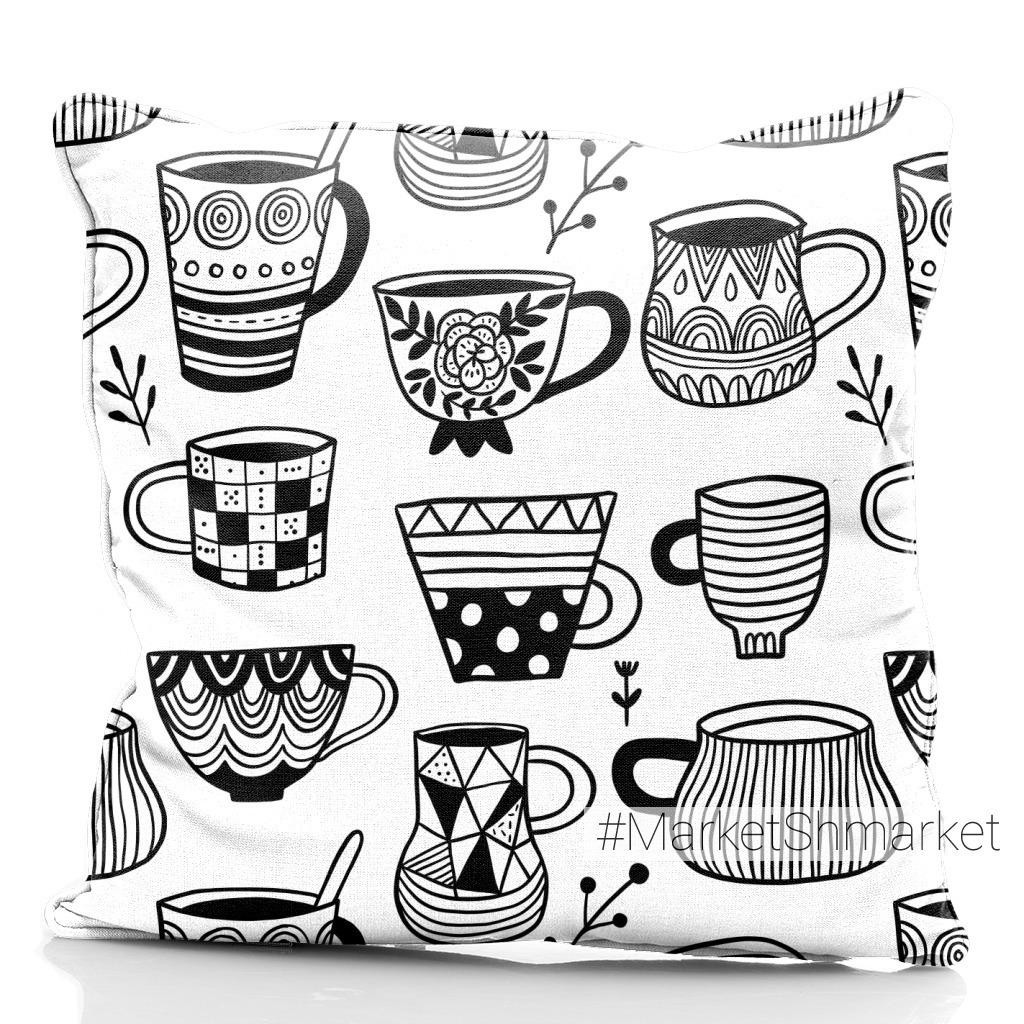 чайю кофе, чашки, кружки