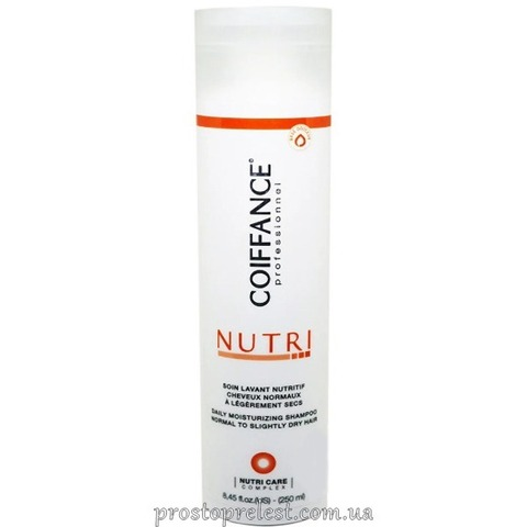 Coiffance Professionnel Nutri Shampoo – Увлажняющий шампунь для волос