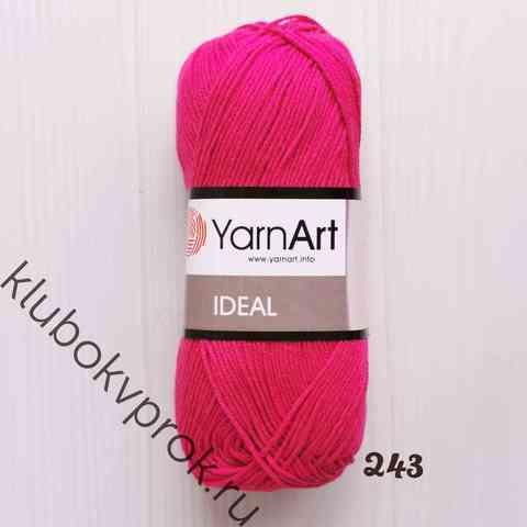 YARNART IDEAL 243, Темный розовый