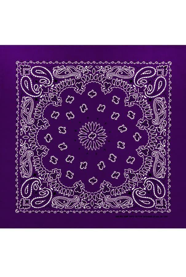 Фиолетовая бандана мужская фото