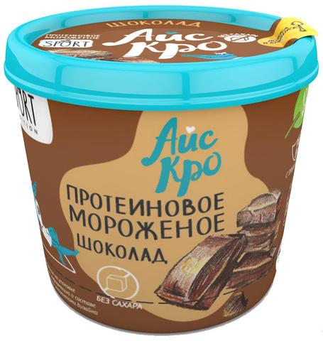 Мороженое Протеиновое Шоколад б/сах 75г
