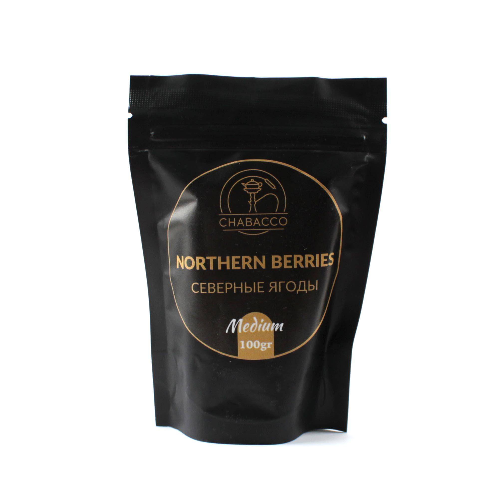 Кальянная смесь Chabacco Medium 100 гр Northern Berries