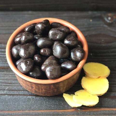Фотография Имбирь в темном в шоколаде / 250 гр купить в магазине Афлора
