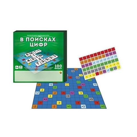 Настольная Игра - В Поисках Цифр - 100 фишек