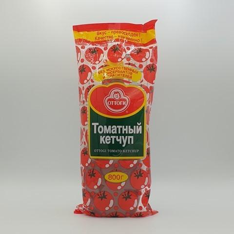 Кетчуп томатный Оттоги OTTOGI, 800 гр