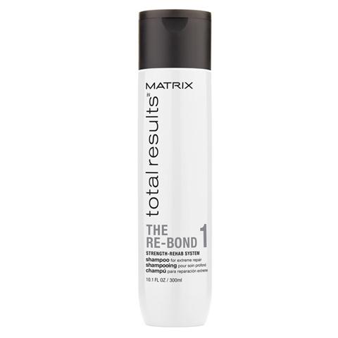 Matrix Total Results The Re-Bond: Шампунь для глубокого восстановления волос (Shampoo), 300мл/1л