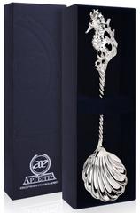 Серебряная ложка «Морской конек»