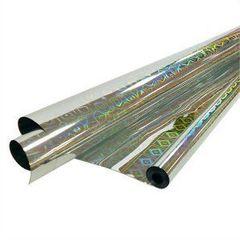 Пленка Голография, 200гр / рулон 70 см * 7,1 м * 40 мкм (Серебро)
