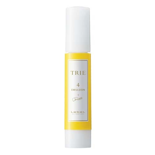 Lebel Trie Emulsion 4 - Крем-эмульсия для естественной укладки волос всех типов и любой длины