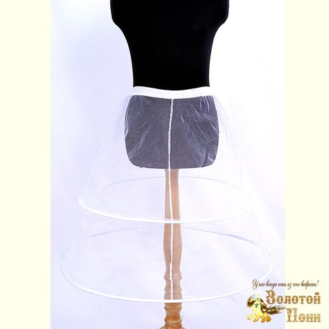 Подъюбник-кольца под платье девочке (3-6/7-12) 201113-Т-9996