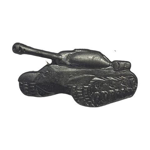 Эмблема петличная Танковые войска, металл. защитный
