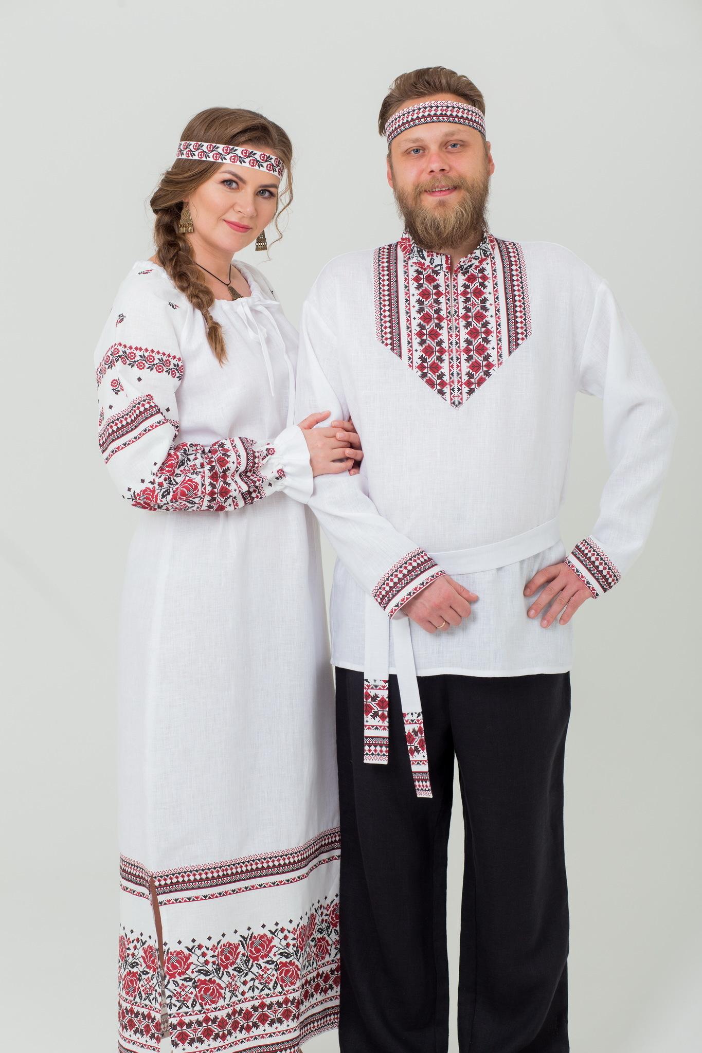 Платье Женское счастье и Рубаха Мужская сила