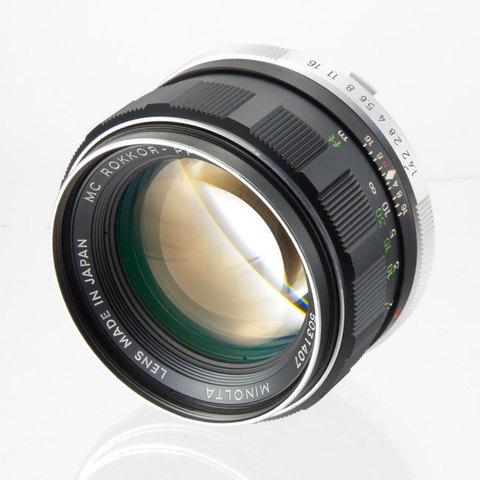 Minolta MC Rokkor-PF 58 mm f/ 1.4