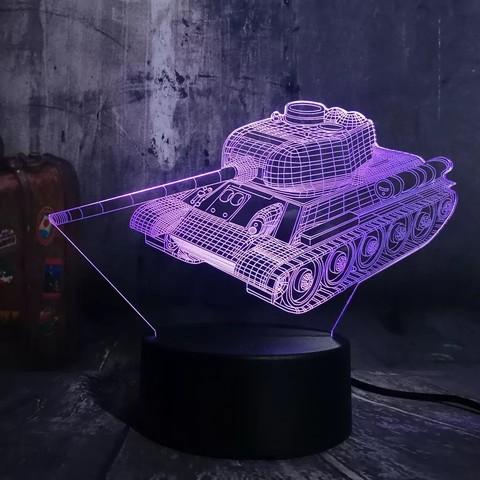 Светильник Танк Т-34