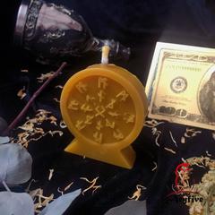 Свеча для привлечения клиентов «Колесо признания»