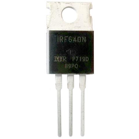 Силовой MOSFET транзистор IRF640N