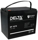 Аккумулятор Delta DT 1275 ( 12V 75Ah / 12В 75Ач ) - фотография