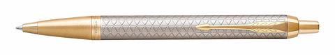 Шариковая ручка Parker IM Premium Warm Silver (grey) GT
