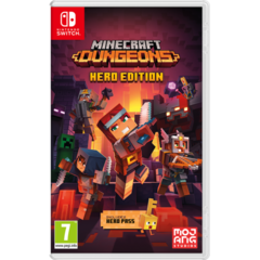 Игра Nintendo Minecraft Dungeons для Nintendo Switch на картридже
