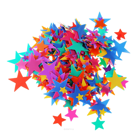 Звезды Ассорти, 0,2-1 см