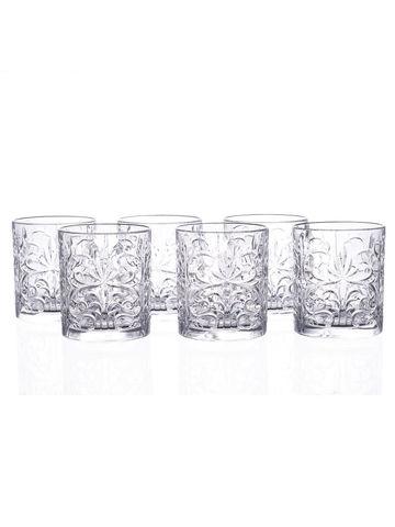 Набор стаканов для виски RCR Tattoo 330 мл, 6 шт