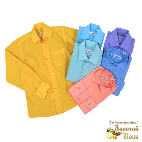 Рубашка хлопок мальчику (5-8) 201223-Ш3255
