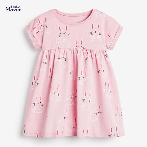 Платье для девочки Little maven Зайчата