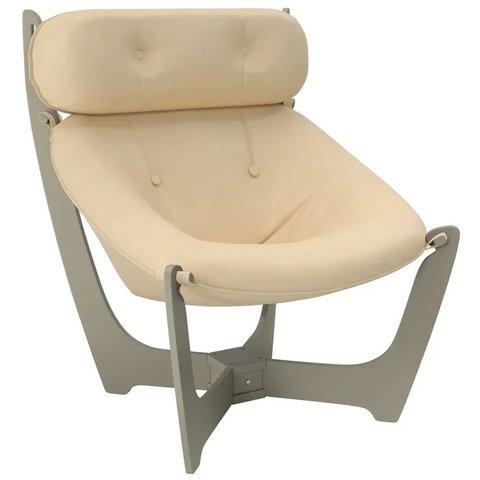 Кресло для отдыха Комфорт Модель 11 серый ясень/Polaris Beige