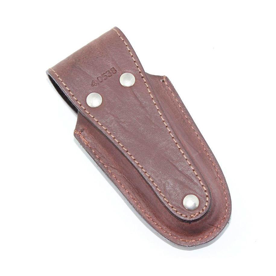 Чехол Victorinox для широких ножей 111 мм. (4.0538) натуральная коричневая кожа | Wenger-Victorinox.Ru