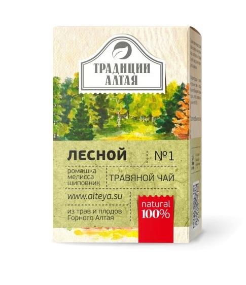 Травяной чай Лесной  Традиции Алтая фото1
