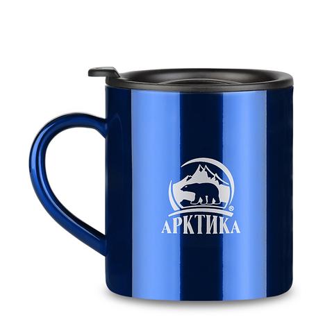 Термокружка Арктика (0,2 литра) невакуумная, синяя