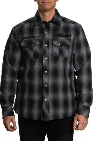 Рубашка фланелевая утепленная Affliction FALTER FLANNEL JACKET