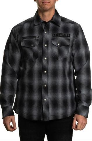 Рубашка фланелевая утепленная Affliction FALTER FLANNEL JACKET